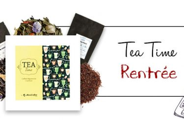 Coffret thé tea time 6 x 50 g