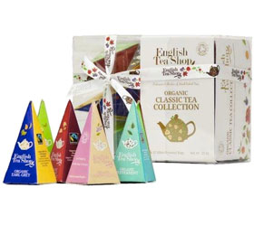Coffret thé Collection Classique Bio English Tea Shop
