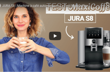 test video expresso broyeur jura s8