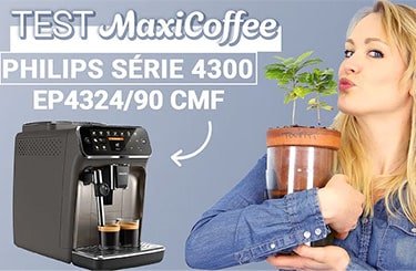 Vidéo test de la machine à café grain Philips série 4300 EP4324/90