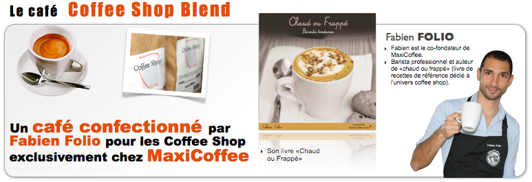 Coffee shop blend spécial coffee shop