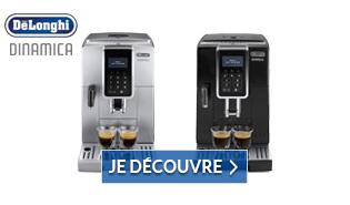 D�couvrez la nouvelle gamme de machines Delonghi Dinamica