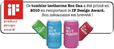 tumbler isotherme sans BPA sefama