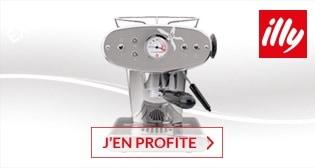JUSQU\'� 80€ OFFERTS SUR LES MACHINES � CAPSULES IPERESPRESSO ILLY