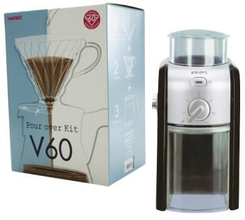 Kit V60 Hario pour 1/4 tasses