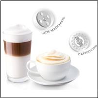 Résultat boissons lactées avec la Melitta Caffeo Varianza CSP