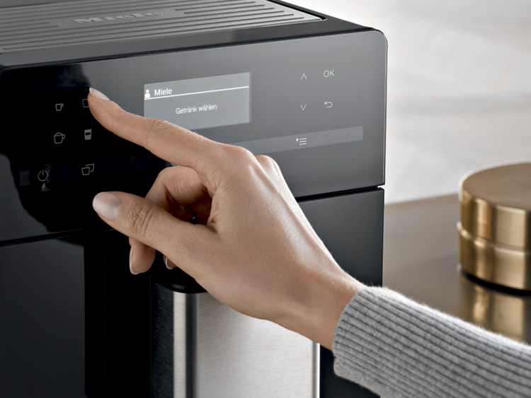 One Touch for Two Miele CM 6110