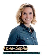 Anne-Sophie Experte machines automatiques