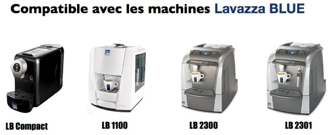 Machine espresso Lavazza-Machine Lavazza Blue-LB 850-LB2300-LB1100-LB2301-LB Compact