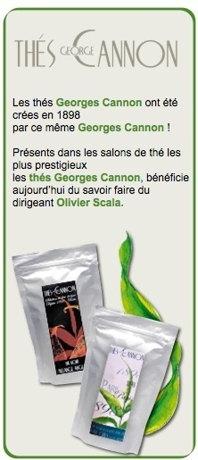 Coffret Duo des Parfums Georges Cannon