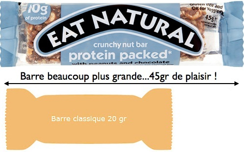 barre eat natural proteine