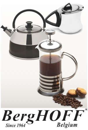 Cafeti re th i re piston berghoff studio 3 tasses 350ml - Utilisation cafetiere a piston ...