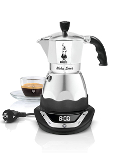cafetière italienne bialetti easy timer
