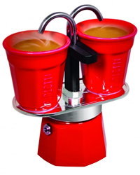 cafeti re bialetti mini express rouge 2 tasses. Black Bedroom Furniture Sets. Home Design Ideas