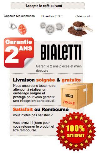 New Bialetti Tazzissima Blanche CF37