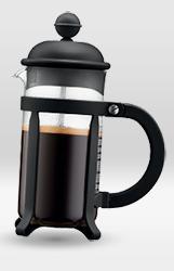 cafetière piston bodum java noir