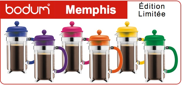 Cafeti re piston bodum caffettiera memphis ed limit e - Cafetiere a piston avis ...