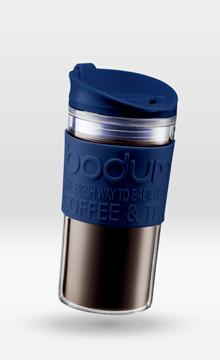 Cl Paroi Travel Mug Isotherme 35 Double Pétrole Bodum Bleu 5AjL4R3