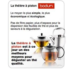 théière piston bodum