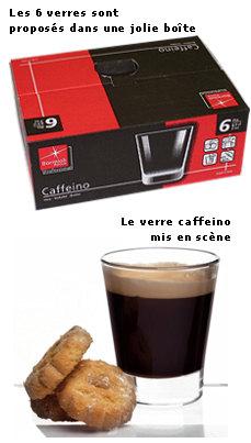 Verre espresso Caffeino  Bormioli Rocco
