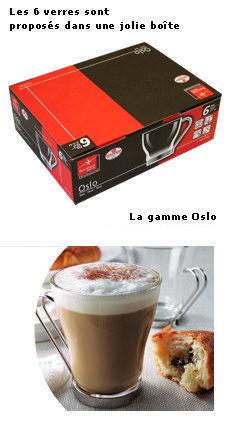 Verre cappuccino Oslo  Bormioli Rocco 10 cl