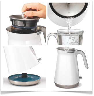 bouilloire morphy richards aspect blanche