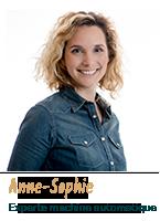 Anne-Sophie, experte machine automatique