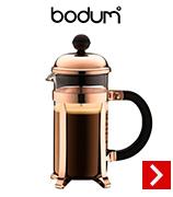 cafetière à piston Bodum Chambord cuivre