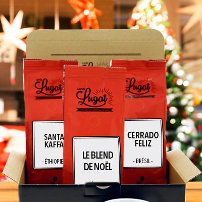 cafés de Noël