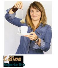 Céline, experte thé