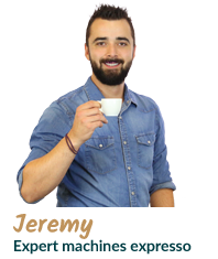 Jérémy, expert machine expresso