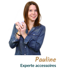 Pauline, experte accessoires