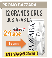 Bazzara 12 Grands crus 100% arabica