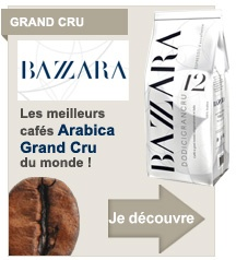 Caf� en grains Bazzara