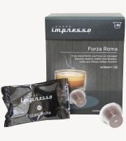 capsule espresso forza roma caffe impresso compatibles nespresso