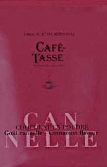Chocolat en poudre artisanal cannelle café-tasse