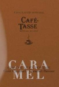 Chocolat en poudre artisanal caramel café-tasse