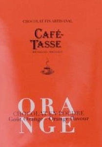 Chocolat en poudre artisanal orange café-tasse