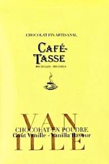 Chocolat en poudre artisanal vanille café-tasse