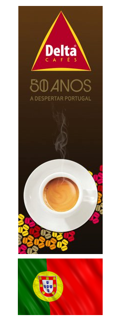 Café DELTA (Delta Cafés) Import direct du Portugal - le meilleur café portugais au monde