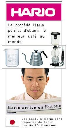 cafetière Hario meilleur café au monde