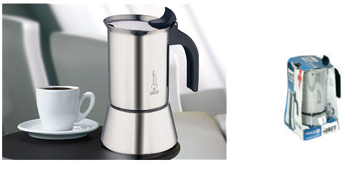 Cafeti re italienne induction bialetti venus 6 tasses - Comment utiliser une cafetiere italienne ...