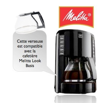 verseuse melitta pour cafeti res look basis m 650. Black Bedroom Furniture Sets. Home Design Ideas