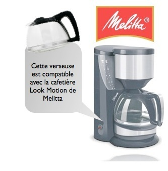 verseuse melitta typ 93 pour cafeti res look motion m 623. Black Bedroom Furniture Sets. Home Design Ideas