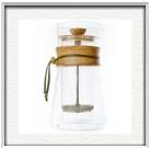 cafetière à piston Hario double paroi en verre DGC40OV :