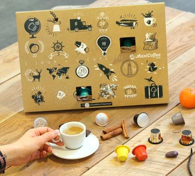 coffret d couverte malin 24 capsules compatibles nespresso. Black Bedroom Furniture Sets. Home Design Ideas