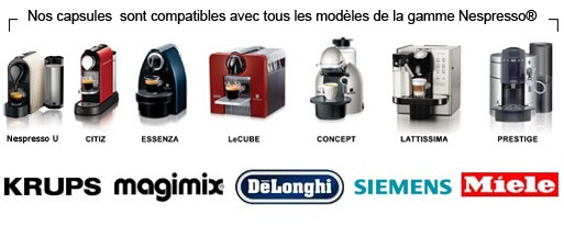 capsules pour machine expresso Nespresso