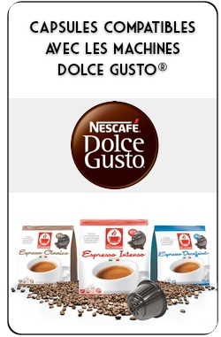 capsules dolce gusto compatibles