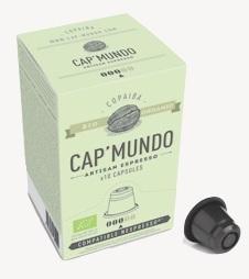 capsules Copaiba CapMundo compatibles Nespresso