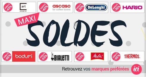 Soldes MaxiCoffee 2013
